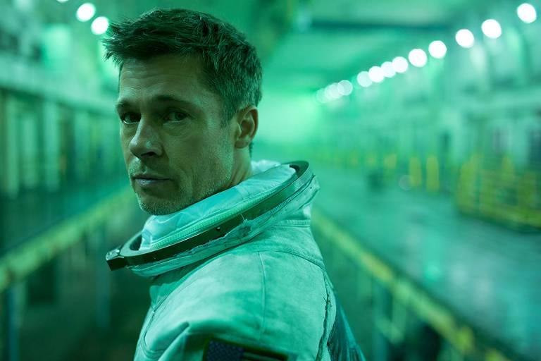 Brad Pitt em cena da 'Ad Astra', de James Gray