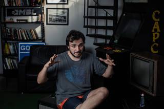 Renan Santos, um dos fundadores e coordenador do MBL (Movimento Brasil Livre)