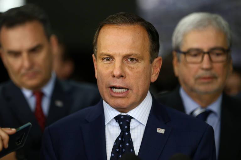 O governador de São Paulo, João Doria (PSDB), que trabalha por uma candidatura presidencial em 2022