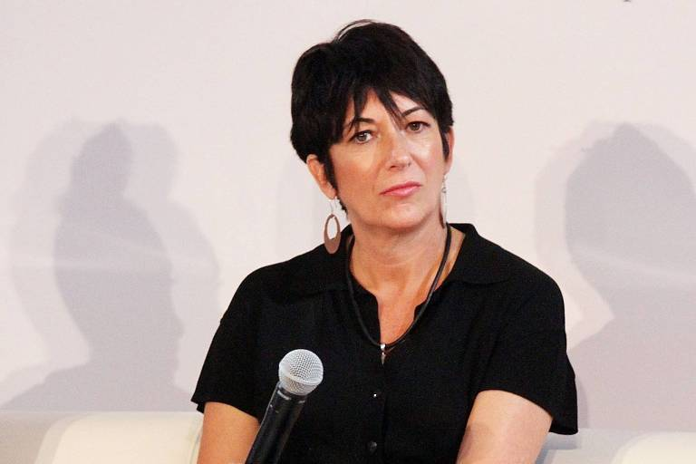 Ghislaine Maxwell durante evento em Nova York, em 2013