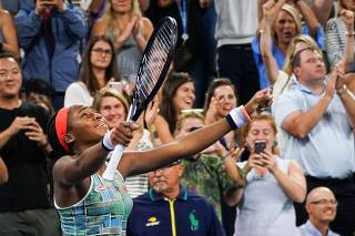 Tennis: Grand Slam Tournaments - US Open: Day 4