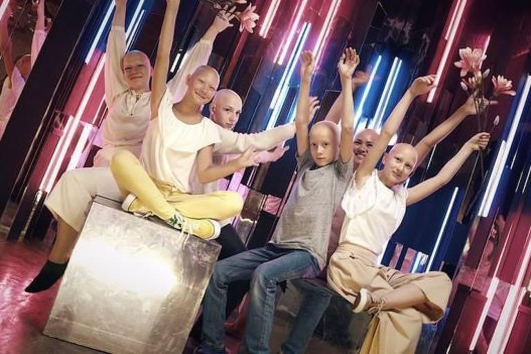Liliya organiza um grupo de apoio na Rússia para crianças com alopecia