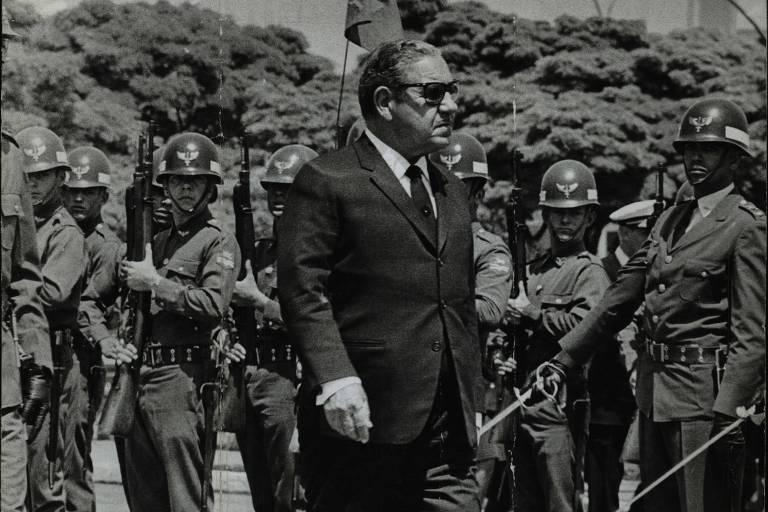 O presidente Arthur da Costa e Silva.