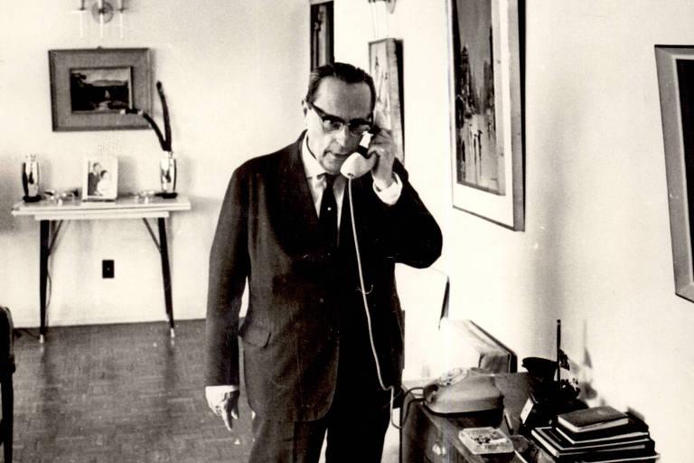 O vice Pedro Aleixo, que foi impedido de assumir o país.
