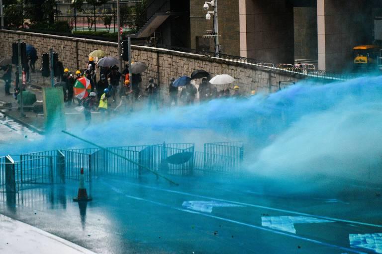 Protestos em Hong Kong em 31 de agosto