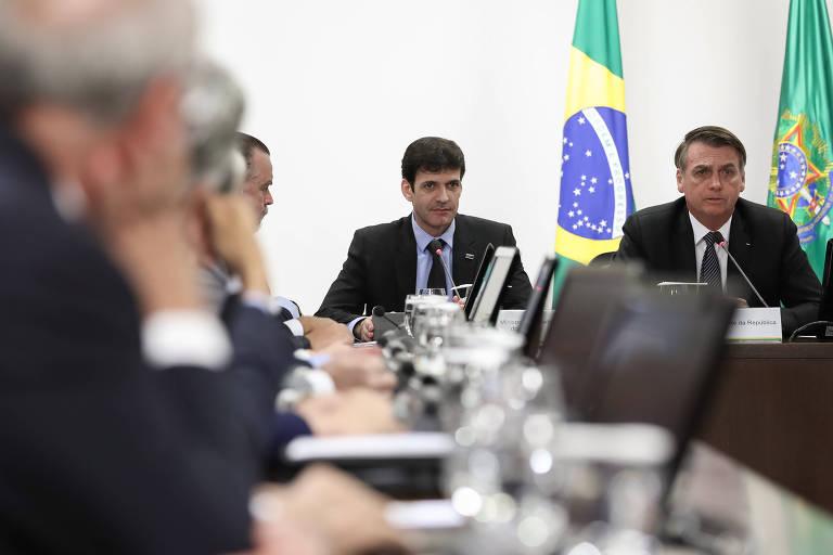 Reunião  com Marcelo Álvaro Antônio, Ministro de Estado do Turismo