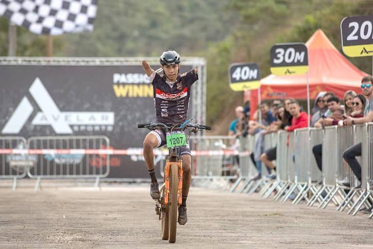 Bruno Paim e sua paixão pelo ciclismo