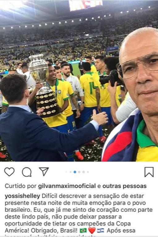 Yossi Shelley, embaixador de Israel no Brasil