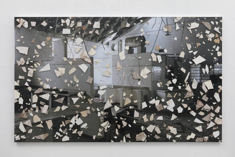 'Todos os Santos', de Daniel Senise, no Tomie Ohtake