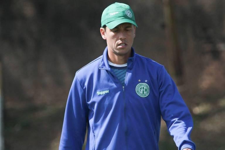 Thiago Carpini é o técnico interino do Guarani