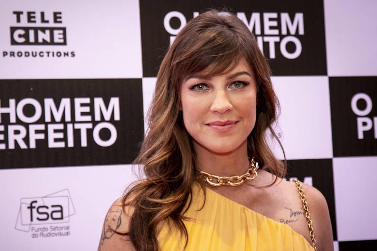 A atriz Luana Piovani na pré estreia do filme 'O Homem Perfeito', no Rio de Janeiro