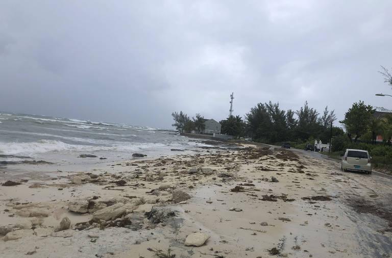 Furacão Dorian atinge as Bahamas