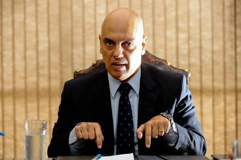 Moraes critica fake news contra juízes e diz que Judiciário mostra independência e altivez