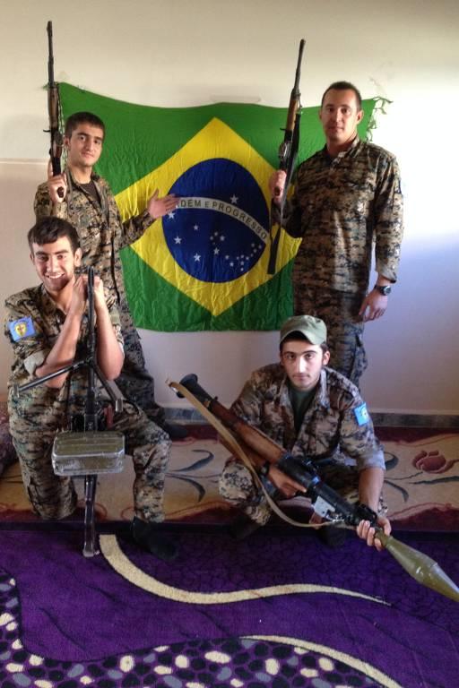Brasileiros combatem o Estado Islâmico