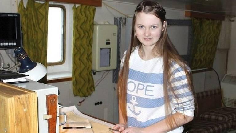 Marina Migunova fez a descoberta por meio do estudo de imagens de satélite.
