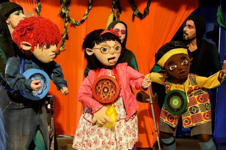 Espetáculo infantil 'Floresta dos Mistérios'