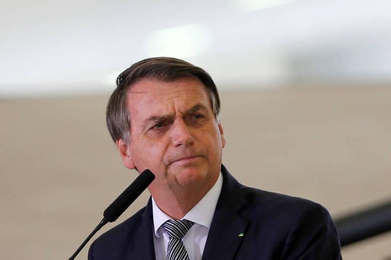 O presidente Jair Bolsonaro, que deve realizar vetos em projeto de abuso de autoridade aprovado pela Câmara