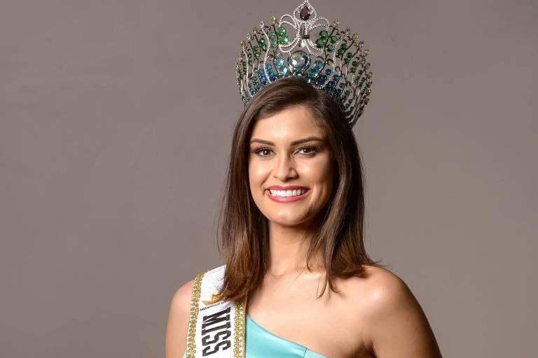 Elis Miele, 20, do Espírito Santo, é eleita a Miss Brasil Mundo 2019