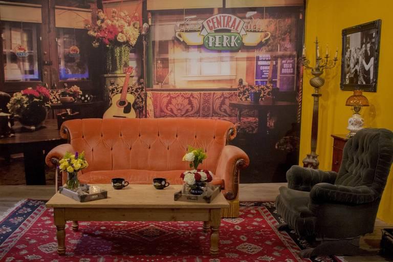 O icônico sofá de 'Friends'