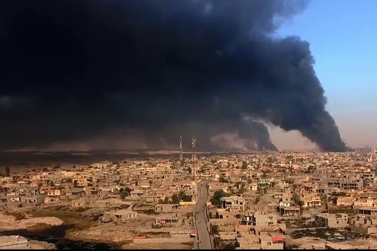 """Imagem do filme """"Mossul"""", sobre retomada da cidade iraquiana do Estado Islâmico"""