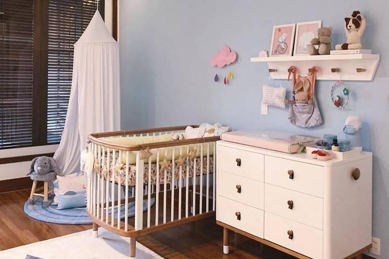 Tatá Werneck mostra quarto da filha, Cora Maria, que deve nascer em outubro