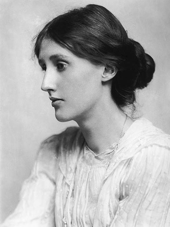 A escritora e ensaísta Virginia Woolf