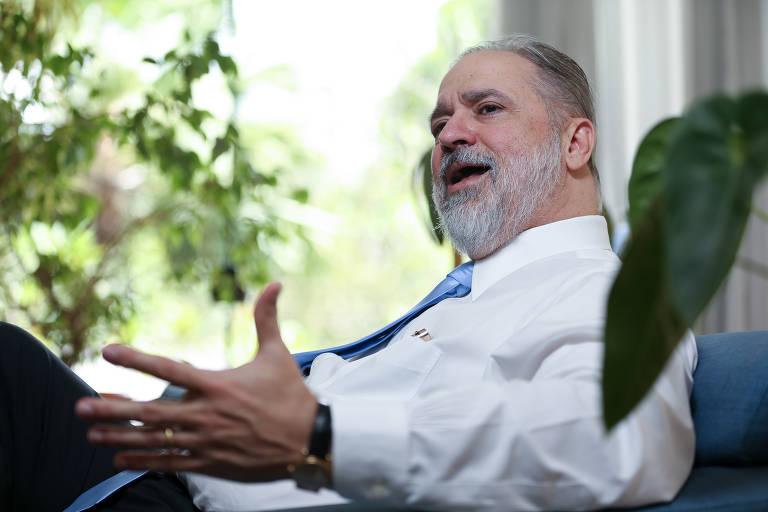 Augusto Aras, indicado por Bolsonaro para a PGR