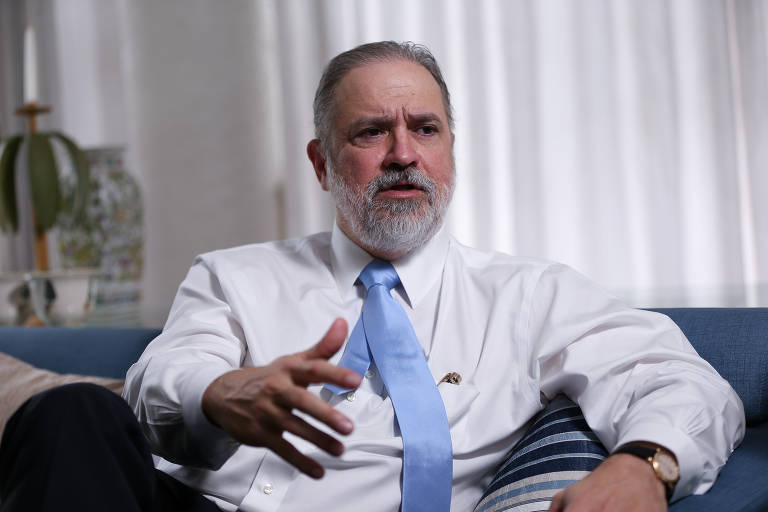 Augusto Aras, indicado por Bolsonaro para chefiar a PGR