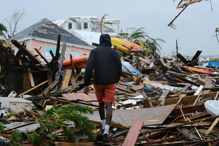 Furacão Dorian devasta as Bahamas