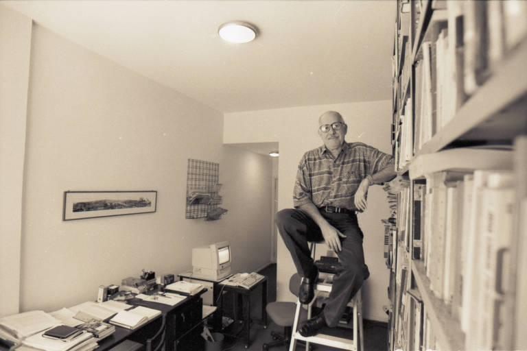 O escritor e crítico literário Silviano Santiago