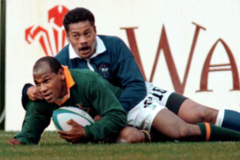 Morre Chester Williams, único negro do rúgbi sul-africano em 1995