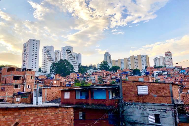 A favela de Paraisópolis