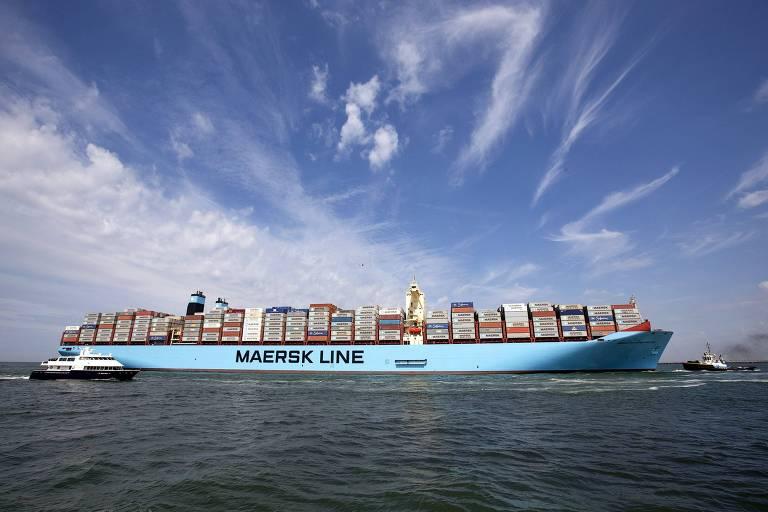 Compras para o Natal não estão como esperado, diz Maersk
