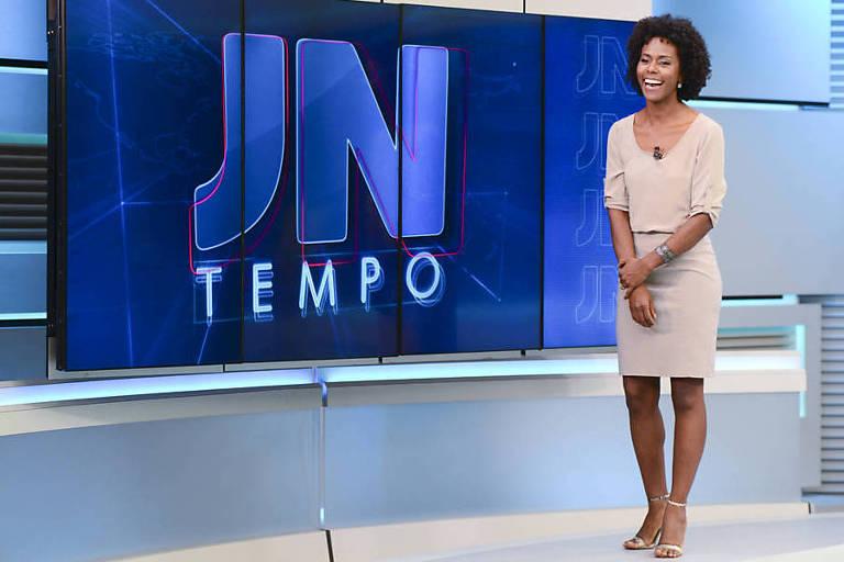 Maju Coutinho no Jornal Nacional