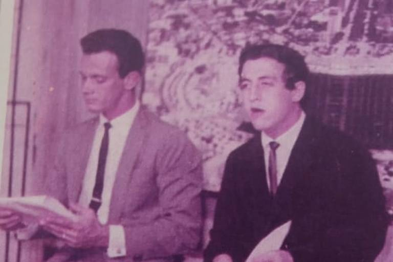 José Divino e o jornalista Jackson Abrão
