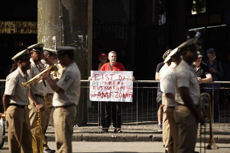Protestos no 7 de setembro