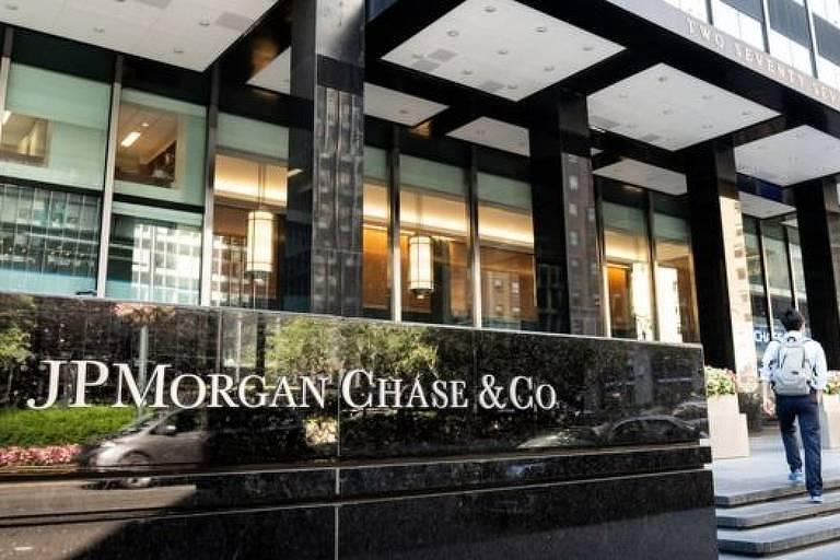 Fachada da JPMorgan, Chase & Cia.