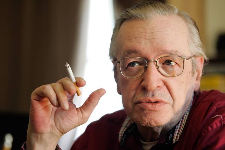 O escritor, astrólogo e filósofo brasileiro, Olavo de Carvalho, um dos principais representantes do conservadorismo no país