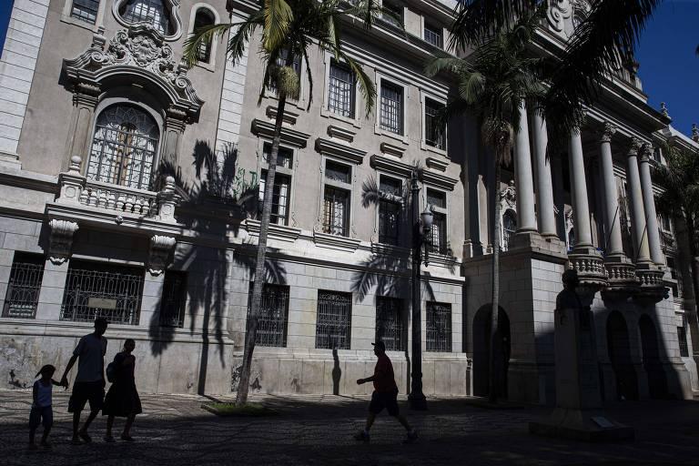 Faculdade de Direito da USP, no centro de São Paulo