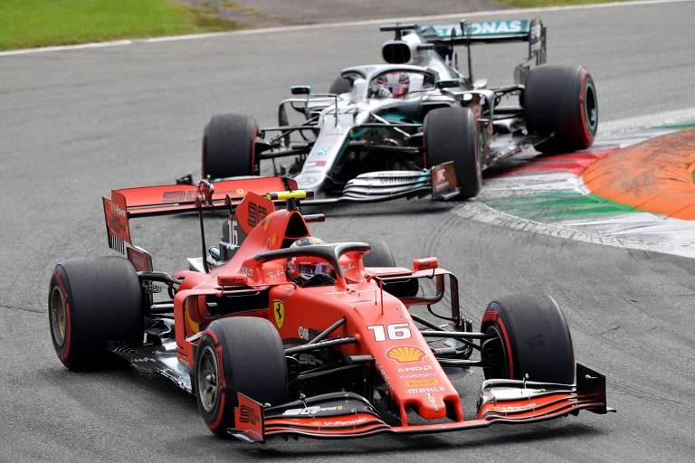 Charles Leclerc quebrou o jejum da Ferrari, que não vencia em Monza desde 2010
