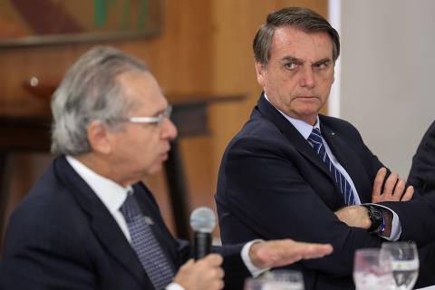 Petróleo quem resolve é a Petrobras, diz Guedes