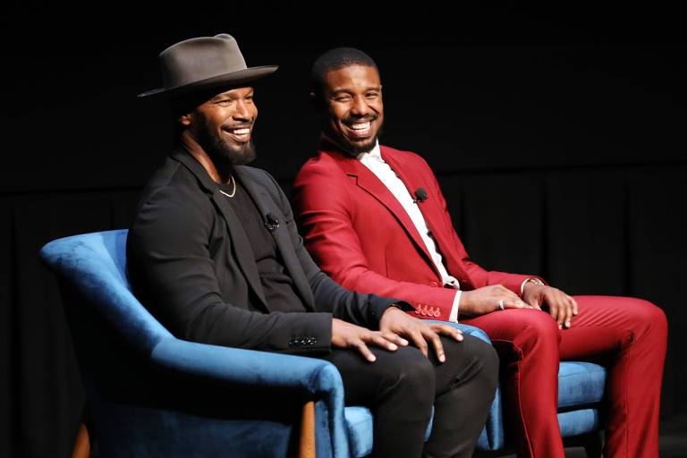 Jamie Foxx e Michael B. Jordan no Toronto International Film Festival
