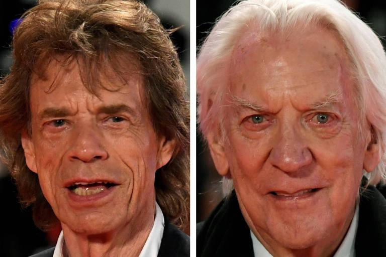 Mick Jagger e Donald Sutherland criticam política ambiental de Trump e Bolsonaro: 'Arruínam o mundo'