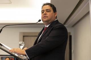 Almoço do Instituto dos Advogados de SP em homenagem ao presidente da OAB, Felipe Santa Cruz