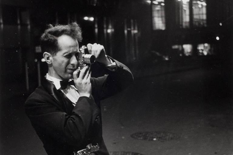 O fotógrafo Robert Frank