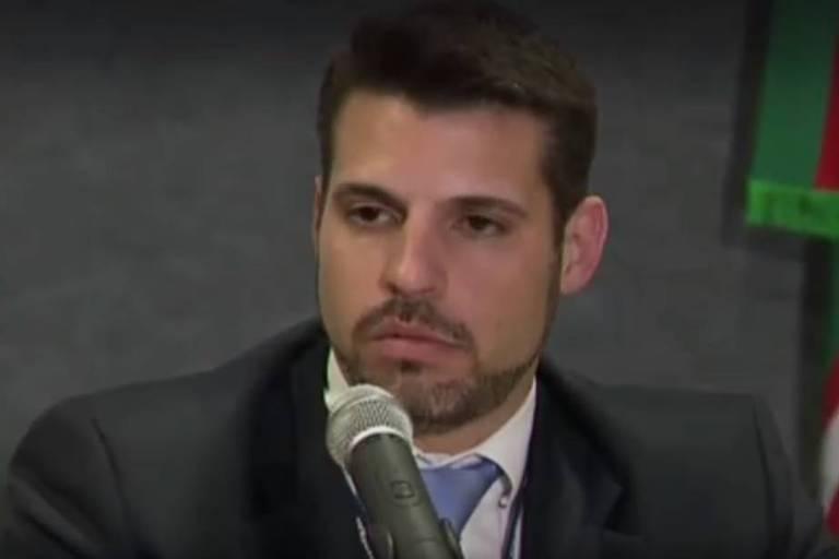 O delegado da Polícia Federal Maurício Moscardi Grillo