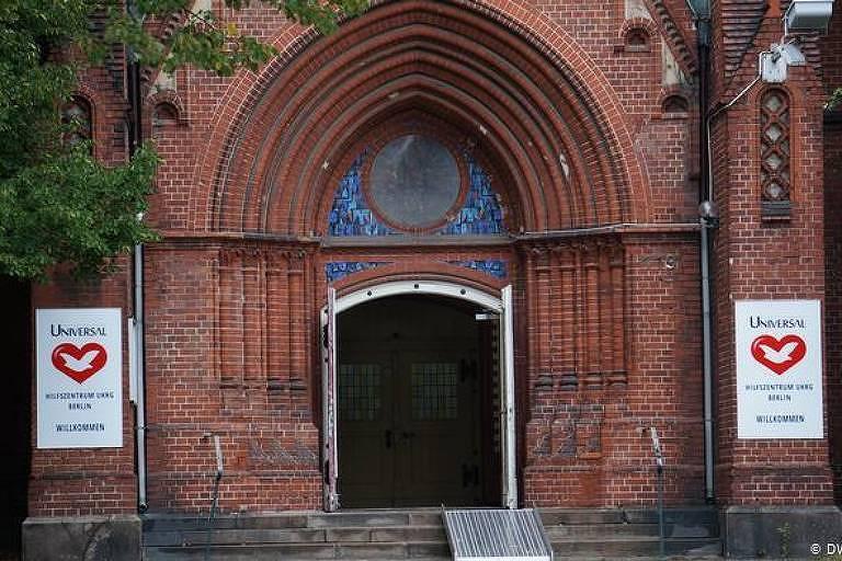 Sede da Igreja Universal do Reino de Deus no centro de Berlim