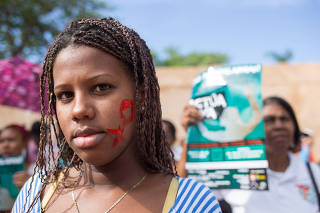 DOMINICAN REPUBLIC-SANTO DOMINGO-ELIMINATION OF VIOLENCE AGAINST WOMEN-COMMEMORATION