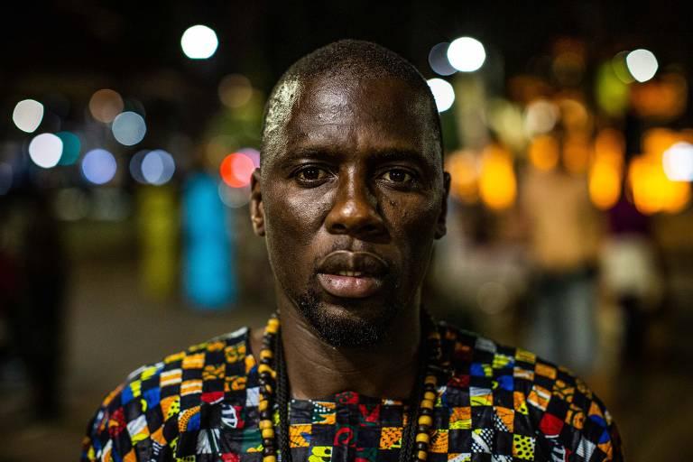 Ritual senegalês leva ritmo para centro de SP