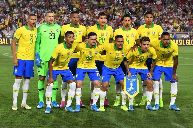 Amistoso entre Brasil e Peru nos EUA